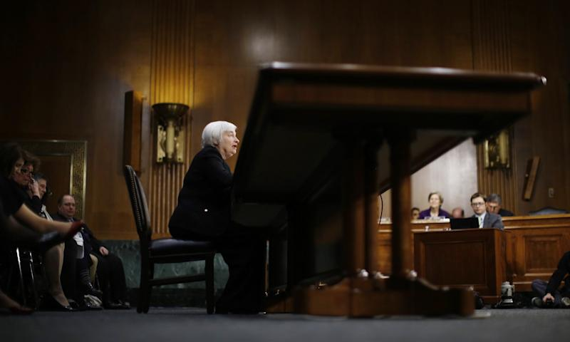Janet Yellen confirmation hearing no cushion