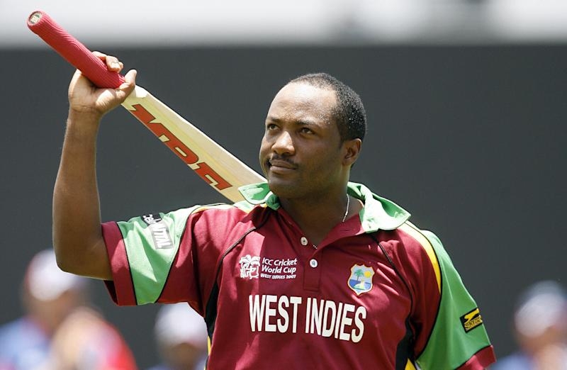 Brian Lara is regarded as one of the greatest batsmen of all time. (Credit: Getty Images)