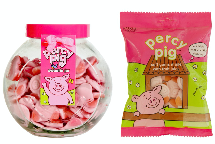 M&S have launched a massive 1kg jar of Percy Pigs. (M&S)