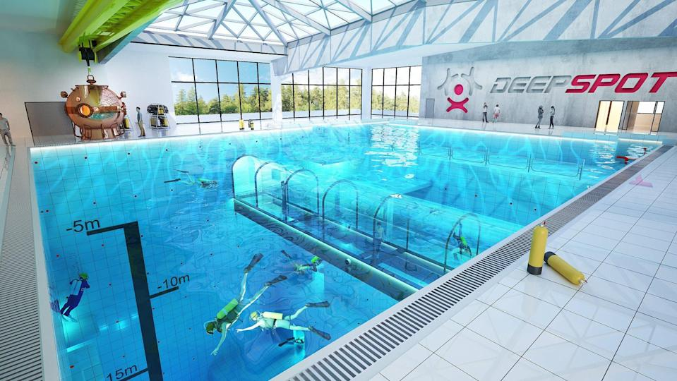 The pool will be open to scuba divers and the general public. Source: CEN