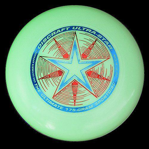 """<p><strong>Discraft</strong></p><p>amazon.com</p><p><strong>$10.99</strong></p><p><a href=""""https://www.amazon.com/dp/B0014MARVK?tag=syn-yahoo-20&ascsubtag=%5Bartid%7C10055.g.29499968%5Bsrc%7Cyahoo-us"""" rel=""""nofollow noopener"""" target=""""_blank"""" data-ylk=""""slk:Shop Now"""" class=""""link rapid-noclick-resp"""">Shop Now</a></p><p>Glow-in-the-dark frisbee? Enough said! Light up your night with a standard-weight frisbee that won't get lost at dusk.</p>"""