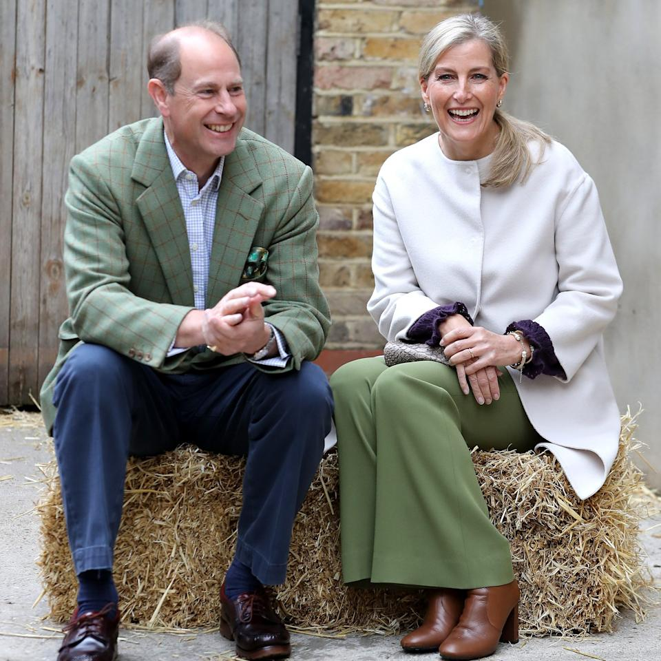 Sophie, Countess of Wessex pictured alongside her husband Prince Edward, Earl of Wessex - Chris Jackson