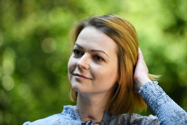 Yulia Skripal speaks to a journalist two months after being poisoned in 2018 (Photo: WPA Pool via Getty Images)