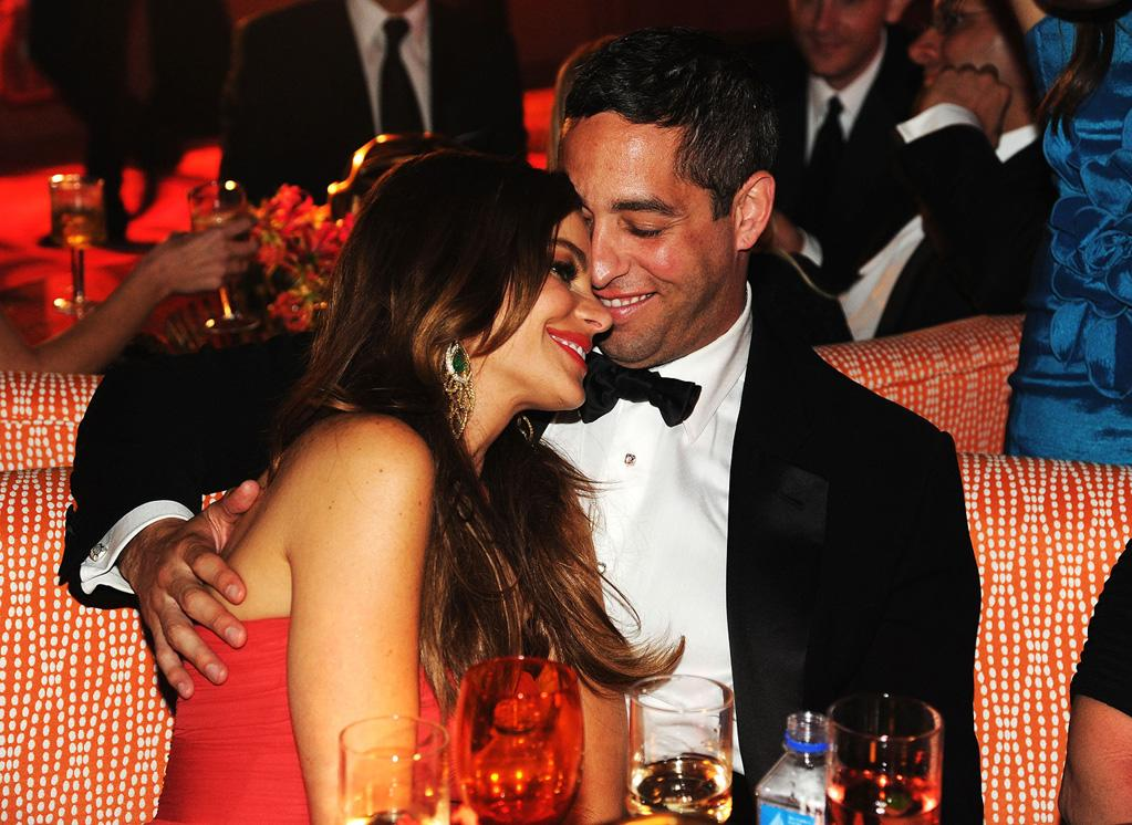 "Also spotted at the HBO bash ... ""Modern Family's"" resident hottie Sofia Vergara and her main squeeze, Florida state politico Nick Loeb. Jeff Kravitz/<a href=""http://www.filmmagic.com/"" target=""new"">FilmMagic.com</a> - September 18, 2011"