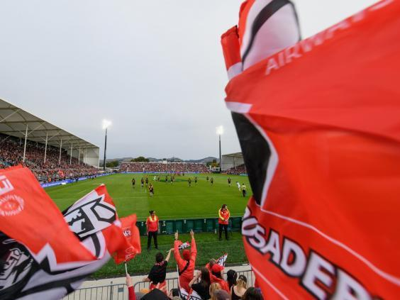 The Crusaders will discuss the prospect of changing their name after the Christchurch shootings (Getty)