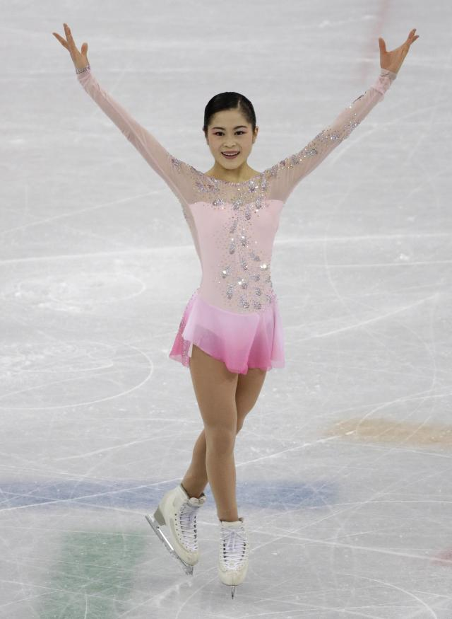 <p>Satoko Miyahara is a four-time Japanese national champion as well as the silver medalist from the 2015 World Championships. Miyahara finished fourth behind Medvedeva, Kostner and Osmond during the women's short program portion of the team event. </p>
