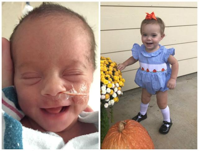 Rosemary was born at 32 weeks, 4.2 pounds, and now 16 months old!<br><br><i>--Lindsay Cole</i>