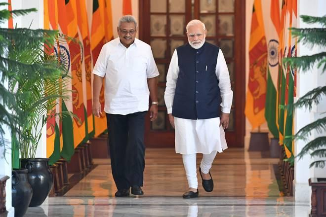 The Sri Lankan president is a former defence secretary and has been the main man behind the ending of his country's civil war. (Twitter image)