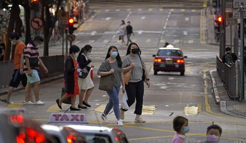 Hong Kong's last day without a coronavirus case was in October, when Typhoon Nangka disrupted sample collection. Photo: AP