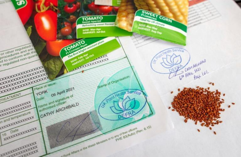 Mercer must now buy certificates costing hundreds of pounds in order to import seeds from England