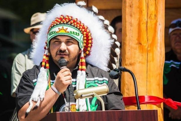 Tobique First Nation Chief Ross Perley says the RCMP need to help keep drug dealers away from the community. (Julianne Hazlewood/CBC - image credit)