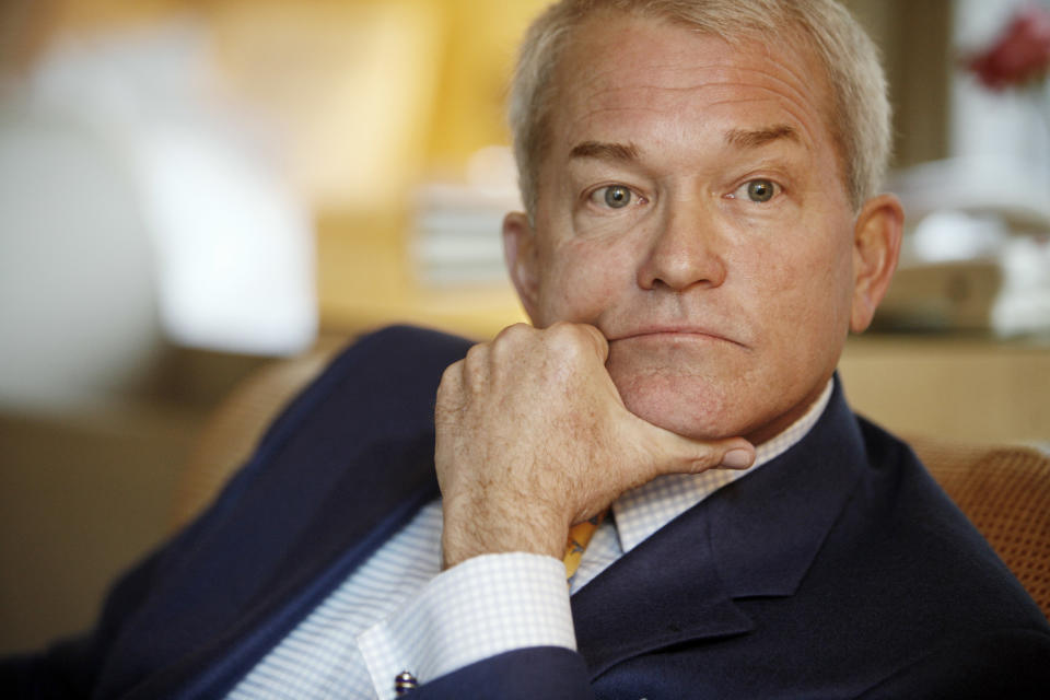 <b>Mark Foley</b> <p> Congressman Mark Foley, R-Fla., resigned in 2006 amid allegations that he had sent sexually explicit emails and instant messages to underage males who had worked as Congressional interns. Foley had represented Florida's 16th district for over a decade and was known for, among other things, his support of anti-gay legislation. Following the scandal, he entered rehab for alcohol abuse. He was not charged with any crimes. In 2009, he began hosting a public affairs program on AM radio. ― M.K. (Richard Drew/AP Photo)</p>