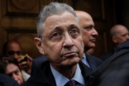 FILE PHOTO: Former New York State Assembly Speaker Sheldon Silver exits the Manhattan U.S. District Courthouse in New York City, U.S., May 3, 2016.  REUTERS/Andrew Kelly
