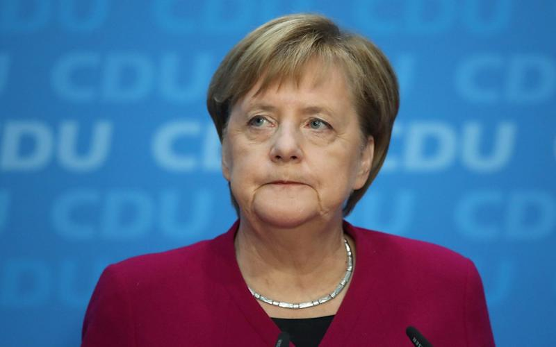 Angela Merkel will not seek re-election as party chair and that her fourth term as chancellor will be her last - Getty Images Europe