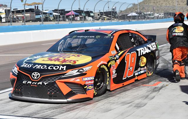 Martin Truex Jr. has finished second twice in 2019. (Photo by Lyle Setter/Icon Sportswire via Getty Images)