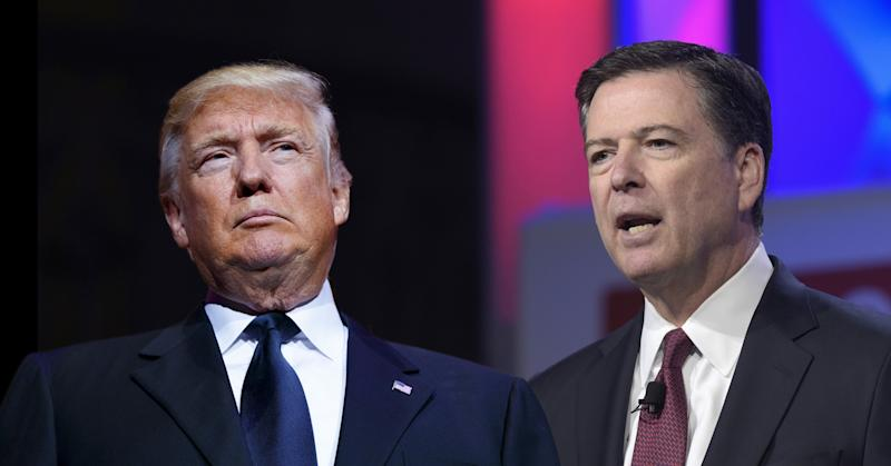 Trump and Comey. (Photos: Evan Vucci/AP, Susan Walsh/AP)