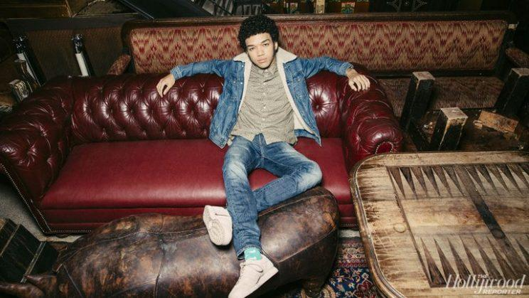 Justice Smith (Photo: Eric Ryan Anderson, The Hollywood Reporter)