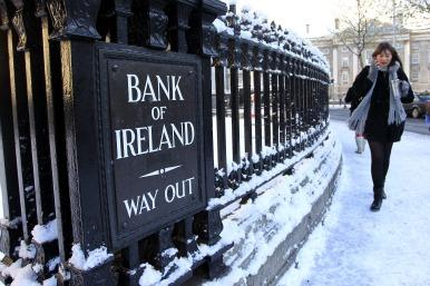 Bank of Ireland sign