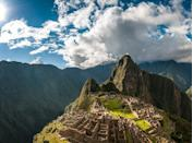 <p>Stand at the top of this 15th-century Incan citadel (almost 8,000 feet above sea level) and look at the river valley beneath you. You're basically walking in the clouds.</p>