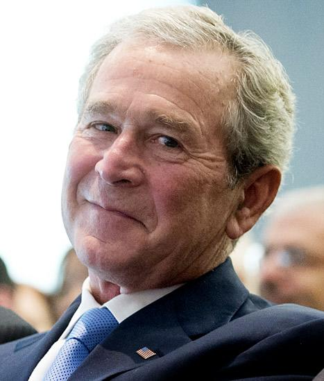 George W. Bush's Paintings Leaked Online After Private E-mail Accounts Hacked: Picture
