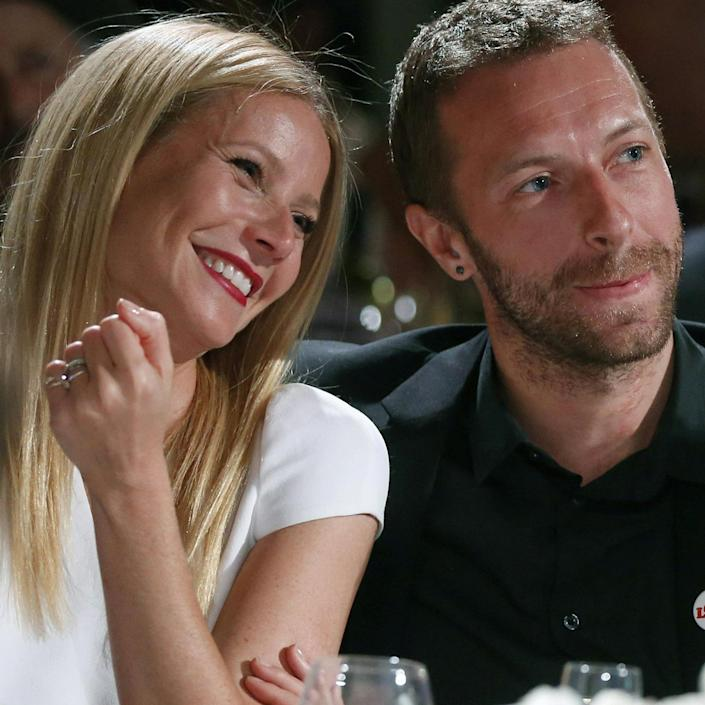Image: Image: Gwyneth Paltrow, Chris Martin (Colin Young-Wolff / AP)