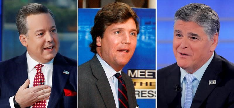 Fox stars Hannity, Carlson and fired anchor Henry in lawsuit