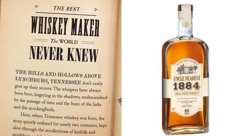 This whiskey his highly decorated and comes with a terrific history lesson.