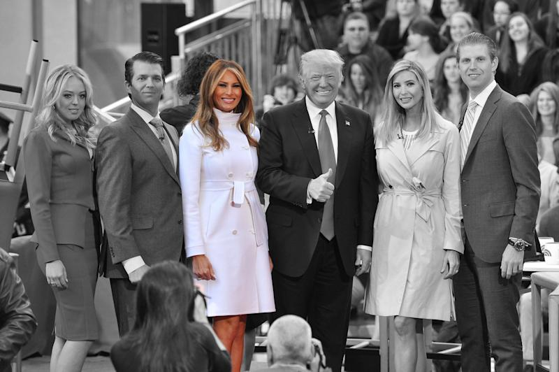 Melania Trump is the First Lady of the United States. [Photo: Getty]