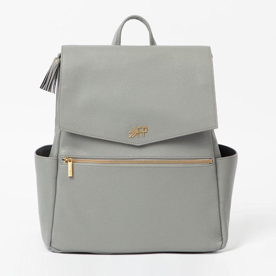 <p>The<span> Classic Diaper Bag</span> ($175) is a nice medium-sized option if you're looking for an everyday bag that won't weigh you down. The zipper opens up wide so you don't have to dig around to find what you need.</p>