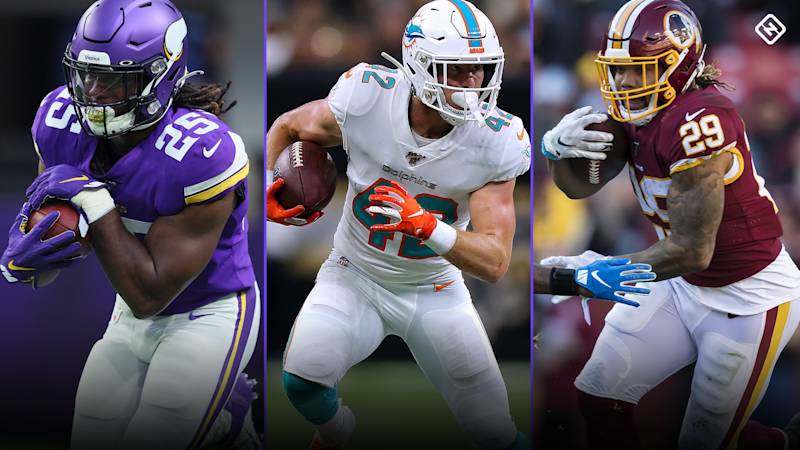 Week 14 Fantasy Sleepers: Alexander Mattison, Patrick Laird, Derrius Guice among potential fantasy playoff breakouts