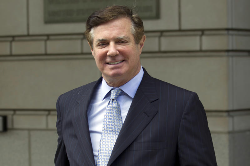 Paul Manafort President Donald Trump's former campaign chairman leaves the Federal District Court after a hearing in Washington. Manafort's attorneys are heading to court Friday at a time of frenetic acti