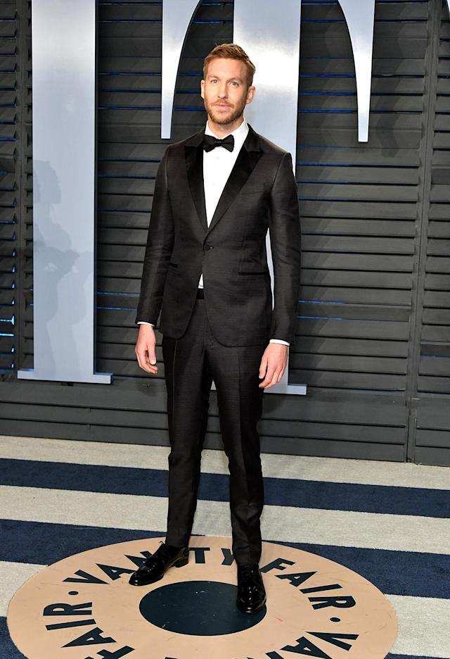 "<p>The ""This Is What You Came For"" DJ got a dapper makeover for his night with the <em>Vanity Fair</em> crowd. (Photo: Dia Dipasupil/Getty Images) </p>"