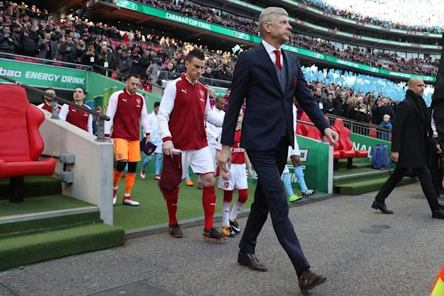 Arsenal boss Arsene Wenger drops his guard as he comes out fighting following EFL Cup Final criticism