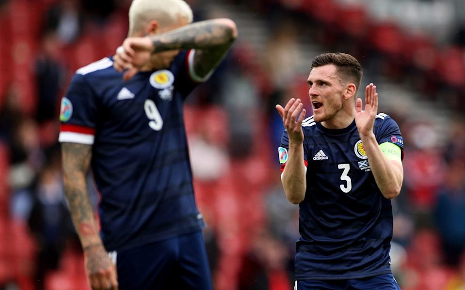 Scotland player ratings: Andrew Robertson the stand-out man in Czech Republic defeat - REUTERS