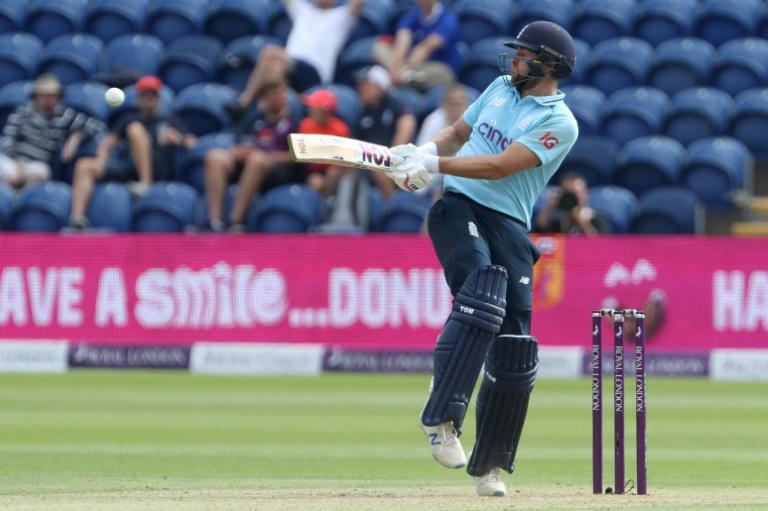 Red-ball recall - Dawid Malan, pictured in one-day action for England against Pakistan in July, has been included in the squad for next week's third Test against India at Headingley