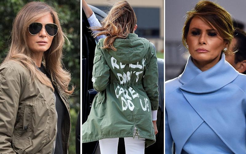 Statement: That Zara jacket has created another Melania frenzy - AFP/REUTERS