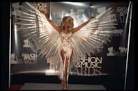 <p>Forget those Victoria Secret Angels, RuPaul owned the winged look at the VH1 Fashion And Music Awards.</p>