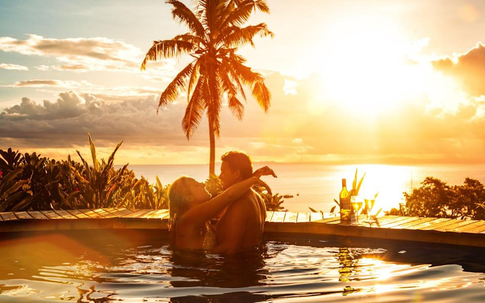 As well as leaving early for work, there are many pitfalls partners can fall into on honeymoon - Credit: jhorrocks
