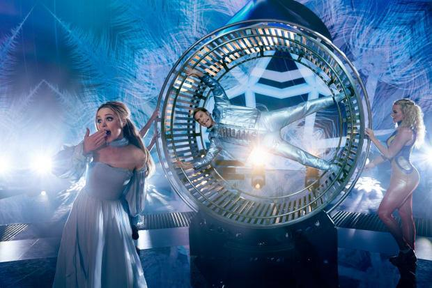 Sigrit, Lars and the hamster wheel.
