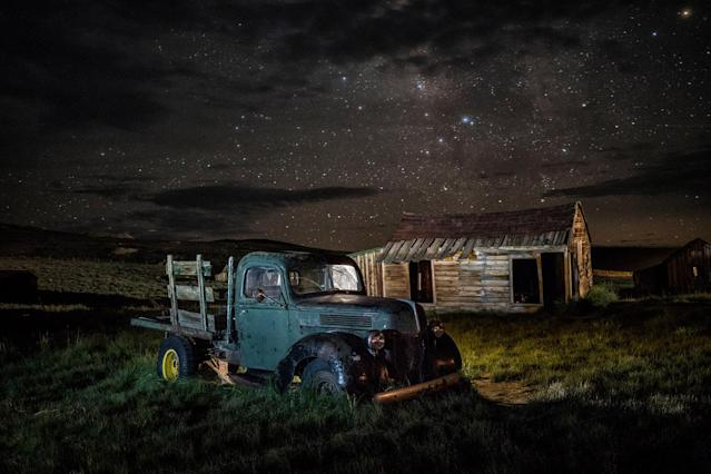<p>Those hunting for a real-life ghost town in time for Halloween need look no further than this haunting spot. (Photo: Matthew Christopher — Abandoned America/Caters News) </p>