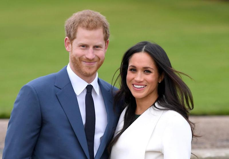Prince Harry is due to marry Meghan in May. Source: Getty