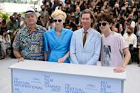 Bill Murray, Tilda Swinton and Timothee Chalamet were among the busload of stars in Wes Anderson's latest.