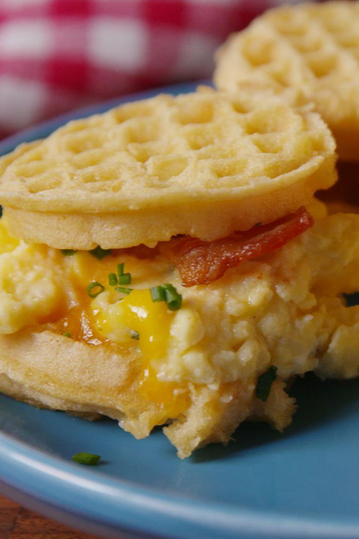 """<p>Is it the weekend yet?</p><p>Get the recipe from <a href=""""/cooking/recipe-ideas/recipes/a50232/eggo-breakfast-sliders-recipe/"""" data-ylk=""""slk:Delish"""" class=""""link rapid-noclick-resp"""">Delish</a>.</p>"""