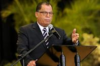 Jordaan, 66, was previously accused of sexual assault by singer and former lawmaker Jennifer Ferguson in November 2017 (AFP Photo/-)