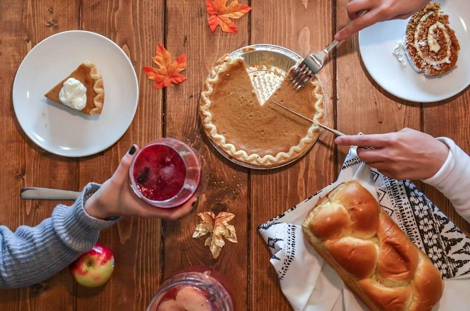 This year, Thanksgiving will be socially distanced, including the desserts.