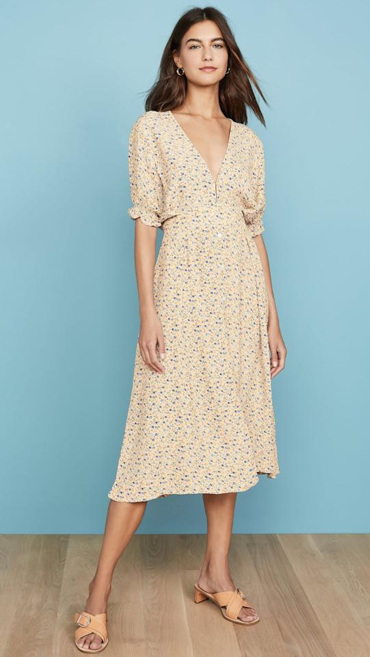 """<p>Whether you style this <a href=""""https://www.popsugar.com/buy/Faithful-Brand-Farah-Midi-Dress-476072?p_name=Faithful%20the%20Brand%20Farah%20Midi%20Dress&retailer=shopbop.com&pid=476072&price=189&evar1=fab%3Aus&evar9=45679915&evar98=https%3A%2F%2Fwww.popsugar.com%2Fphoto-gallery%2F45679915%2Fimage%2F46526931%2FFaithful-Brand-Farah-Midi-Dress&list1=shopping%2Ctravel%2Csummer%20travel%2Cspring%20fashion%2Ctravel%20outfits%2Csummer%20fashion&prop13=api&pdata=1"""" rel=""""nofollow"""" data-shoppable-link=""""1"""" target=""""_blank"""" class=""""ga-track"""" data-ga-category=""""Related"""" data-ga-label=""""https://www.shopbop.com/farah-midi-dress-faithfull-brand/vp/v=1/1575184517.htm?folderID=13351&amp;fm=other-shopbysize-viewall&amp;os=false&amp;colorId=14D29"""" data-ga-action=""""In-Line Links"""">Faithful the Brand Farah Midi Dress</a> ($189) with sandals or sneakers, it will always look good.</p>"""