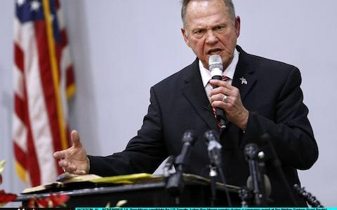 Roy Moore - Credit: Getty Images North America