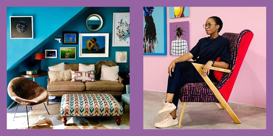 "<p>There are many ways to support the Black Lives Matter movement: taking to the streets, writing your local government officials, donating generously, and buying from <a href=""https://www.elledecor.com/design-decorate/g32743982/black-owned-home-decor-brands-we-should-all-be-supporting/"" rel=""nofollow noopener"" target=""_blank"" data-ylk=""slk:Black-owned businesses"" class=""link rapid-noclick-resp"">Black-owned businesses</a>. At <em>ELLE Decor</em><em>,</em> we primarily focus on the home and the beauty of interior spaces, but now is not the time for anyone to be silent. So to show our solidarity with and support for the Black interior design community, and to help commemorate Black History Month, we're highlighting 65 designers below. Follow them today to enrich your Instagram feed with the work of these talented individuals. </p>"