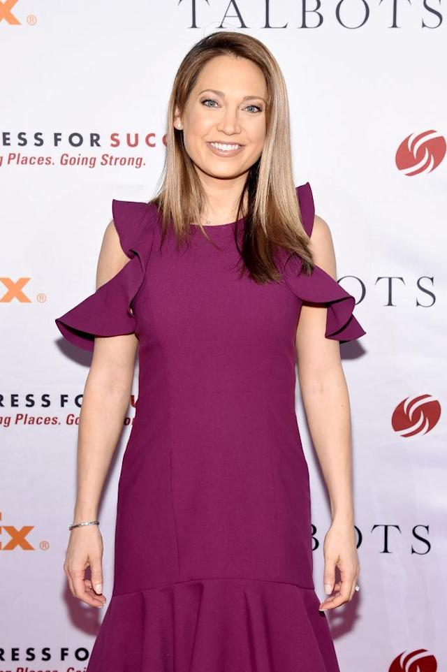 Ginger Zee has the perfect response to somebody who fashion shamed her. (Photo: Getty Images)