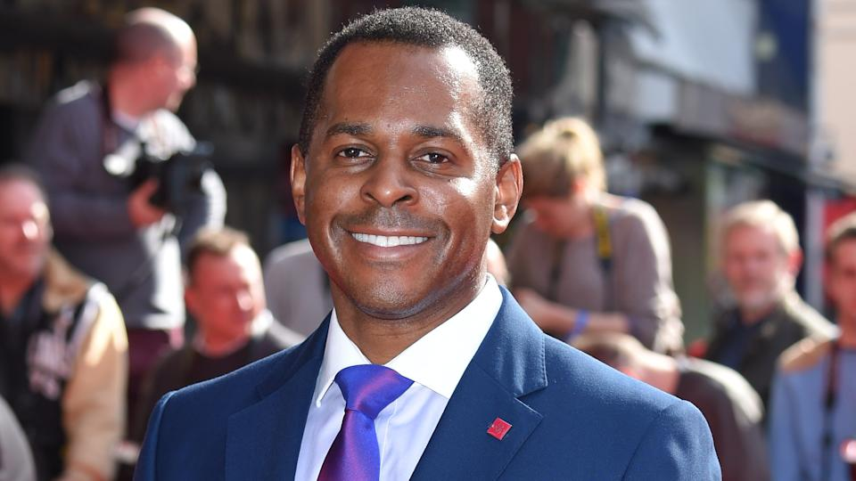 Andi Peters Peters attends The Prince's Trust Celebrate Success Awards at Odeon Leicester Square on March 12, 2015 (Karwai Tang/WireImage)